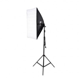 135W Bulb 5070 Single Head Soft Light Box Two Lights Set UK Plug