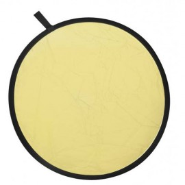 2-in-1 Gold and Silver Reflector Backdrop 80 cm UK