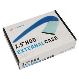 "2.5"" USB 2.0 IDE 2.5 HDD HD Hard Drive Enclosure Case Black"