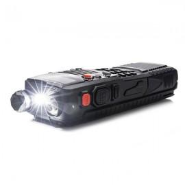 [US-W]BAOFENG UV-5XP 7.4v 3000mAh 8W Dual-band Walkie Talkie Earphone Black